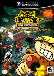 Box cover for Codename: Kids Next Door - Operation: V.I.D.E.O.G.A.M.E. on the Nintendo GameCube.