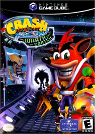 Box cover for Crash Bandicoot: The Wrath of Cortex on the Nintendo GameCube.