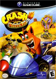 Box cover for Crash Nitro Kart on the Nintendo GameCube.