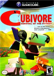 Box cover for Cubivore on the Nintendo GameCube.