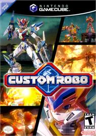 Box cover for Custom Robo on the Nintendo GameCube.