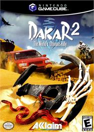 Box cover for Dakar 2: The World's Ultimate Rally on the Nintendo GameCube.