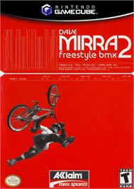 Box cover for Dave Mirra Freestyle BMX 2 on the Nintendo GameCube.