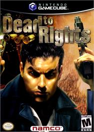 Box cover for Dead to Rights on the Nintendo GameCube.