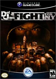 Box cover for Def Jam: Fight for NY on the Nintendo GameCube.