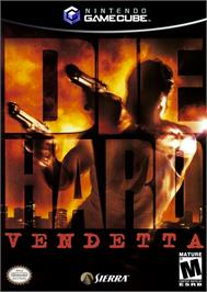 Box cover for Die Hard: Vendetta on the Nintendo GameCube.