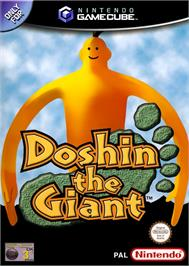 Box cover for Doshin the Giant on the Nintendo GameCube.