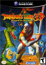 Box cover for Dragon's Lair 3D: Return to the Lair on the Nintendo GameCube.