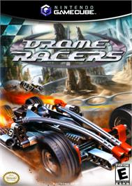 Box cover for Drome Racers on the Nintendo GameCube.