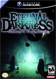 Box cover for Eternal Darkness: Sanity's Requiem on the Nintendo GameCube.