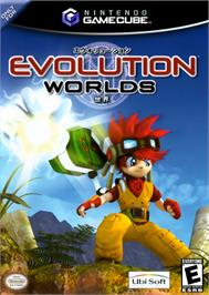 Box cover for Evolution Worlds on the Nintendo GameCube.