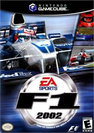 Box cover for F1 2002 on the Nintendo GameCube.