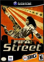 Box cover for FIFA Street on the Nintendo GameCube.