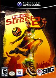 Box cover for FIFA Street 2 on the Nintendo GameCube.