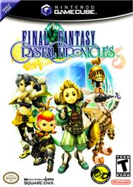 Box cover for Final Fantasy: Crystal Chronicles on the Nintendo GameCube.