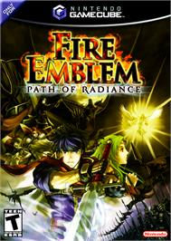Box cover for Fire Emblem: Path of Radiance on the Nintendo GameCube.