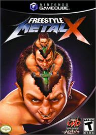 Box cover for Freestyle MetalX on the Nintendo GameCube.
