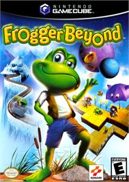 Box cover for Frogger Beyond on the Nintendo GameCube.