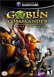Box cover for Goblin Commander: Unleash the Horde on the Nintendo GameCube.