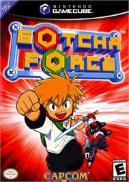 Box cover for Gotcha Force on the Nintendo GameCube.