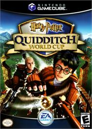 Box cover for Harry Potter: Quidditch World Cup on the Nintendo GameCube.
