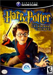 Box cover for Harry Potter and the Chamber of Secrets on the Nintendo GameCube.