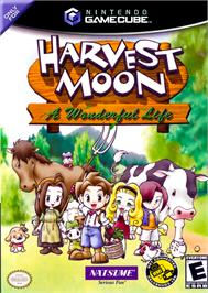 Box cover for Harvest Moon: A Wonderful Life on the Nintendo GameCube.