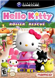Box cover for Hello Kitty: Roller Rescue on the Nintendo GameCube.
