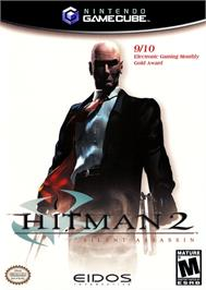 Box cover for Hitman 2: Silent Assassin on the Nintendo GameCube.
