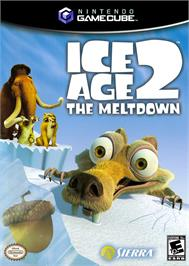 Box cover for Ice Age 2: The Meltdown on the Nintendo GameCube.