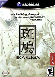 Box cover for Ikaruga on the Nintendo GameCube.