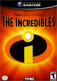 Box cover for Incredibles on the Nintendo GameCube.