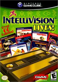 Box cover for Intellivision Lives on the Nintendo GameCube.