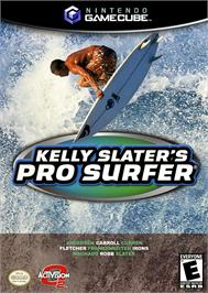 Box cover for Kelly Slater's Pro Surfer on the Nintendo GameCube.