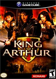 Box cover for King Arthur on the Nintendo GameCube.
