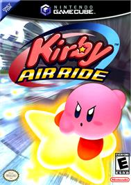 Box cover for Kirby Air Ride on the Nintendo GameCube.