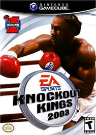 Box cover for Knockout Kings 2003 on the Nintendo GameCube.
