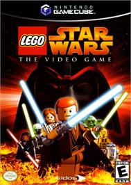 Box cover for LEGO Star Wars: The Video Game on the Nintendo GameCube.