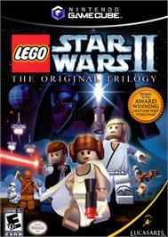 Box cover for LEGO Star Wars 2: The Original Trilogy on the Nintendo GameCube.