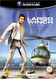 Box cover for Largo Winch: Empire Under Threat on the Nintendo GameCube.