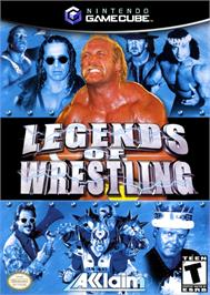 Box cover for Legends of Wrestling on the Nintendo GameCube.