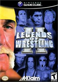 Box cover for Legends of Wrestling 2 on the Nintendo GameCube.
