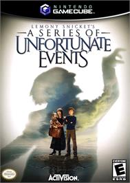 Box cover for Lemony Snicket's A Series of Unfortunate Events on the Nintendo GameCube.