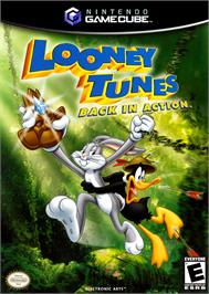 Box cover for Looney Tunes: Back in Action on the Nintendo GameCube.