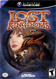 Box cover for Lost Kingdoms on the Nintendo GameCube.