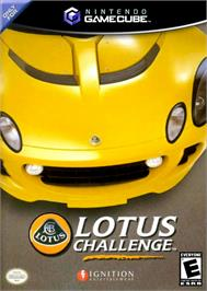 Box cover for Lotus Challenge on the Nintendo GameCube.