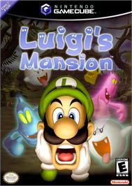 Box cover for Luigi's Mansion on the Nintendo GameCube.