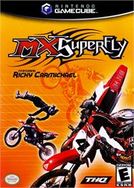 Box cover for MX Superfly Featuring Ricky Carmichael on the Nintendo GameCube.
