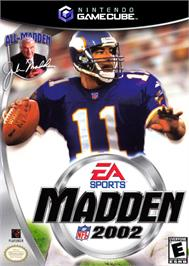 Box cover for Madden NFL 2002 on the Nintendo GameCube.