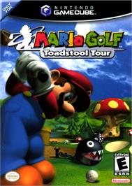 Box cover for Mario Golf: Toadstool Tour on the Nintendo GameCube.